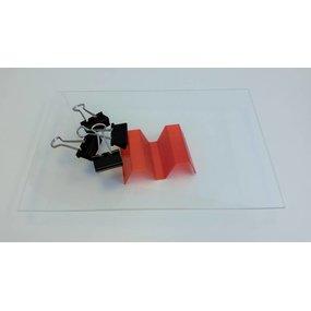 Wanhao Duplicator 4S/4X glazen buildplate