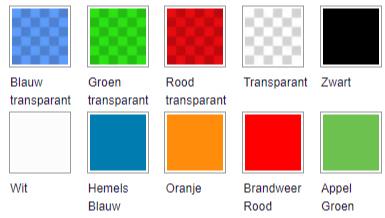 laten printen in PET beschikbare kleuren
